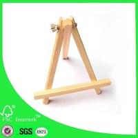 bingo mini canvas easel supplier made in china