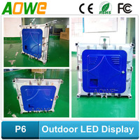 P1.9 P2 P3 P4 P5 P6 P8 P10 outdoor rental led display, die-casting aluminum led display
