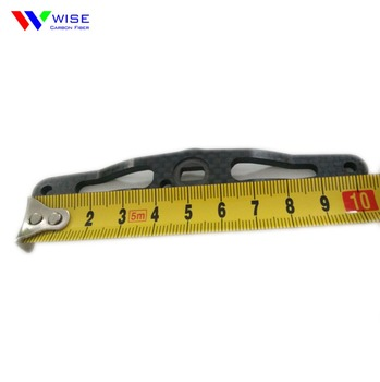 High quality fishing line wheel rocker carbon arm
