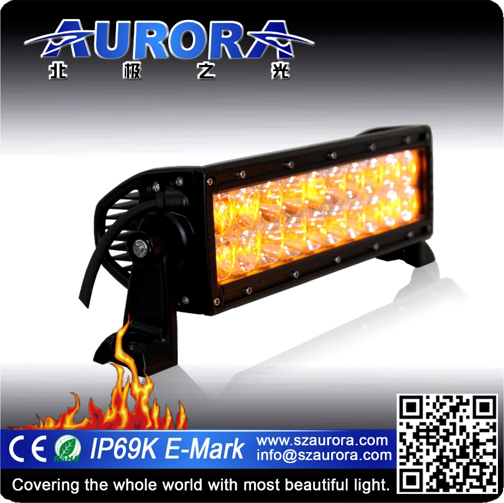10 inch 60w all weather mix light bar auto led off road light bar amber led light bar