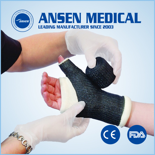 Lightweight Fiberglass Casting Tape Medical Cast Bandage CE FDA