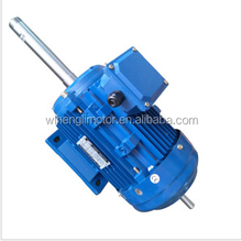 Double Shaft Three Phase And Single Phase Electric Motor, Electric Motor Double Shaft Motor