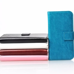 Leather case For Samsung Galaxy S4 mini I9190, Made in China shell wallet leather anti-shock back cover phone case