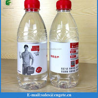 Customized Plastic Mineral Water Transparent Bottle