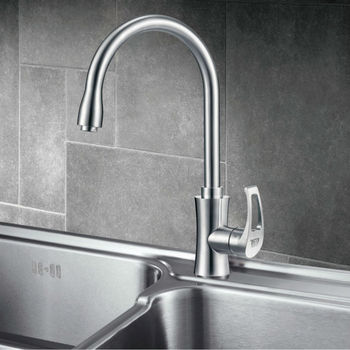 High-tech foshan SUS 304 single handle pull out kitchen faucet