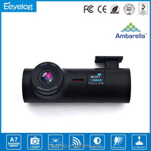 Night vision Wide View Angle vehicle black box dvr wifi car dashboard camera