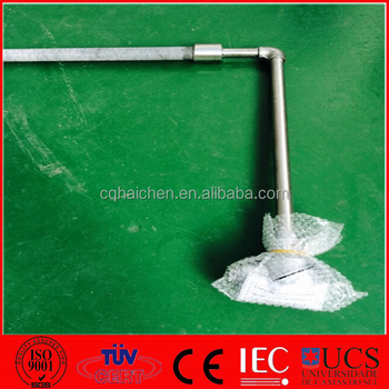 Right Angle Thermocouple For Salt Bath Furnace