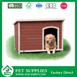 pine wood New Design painted wooden dog kennel