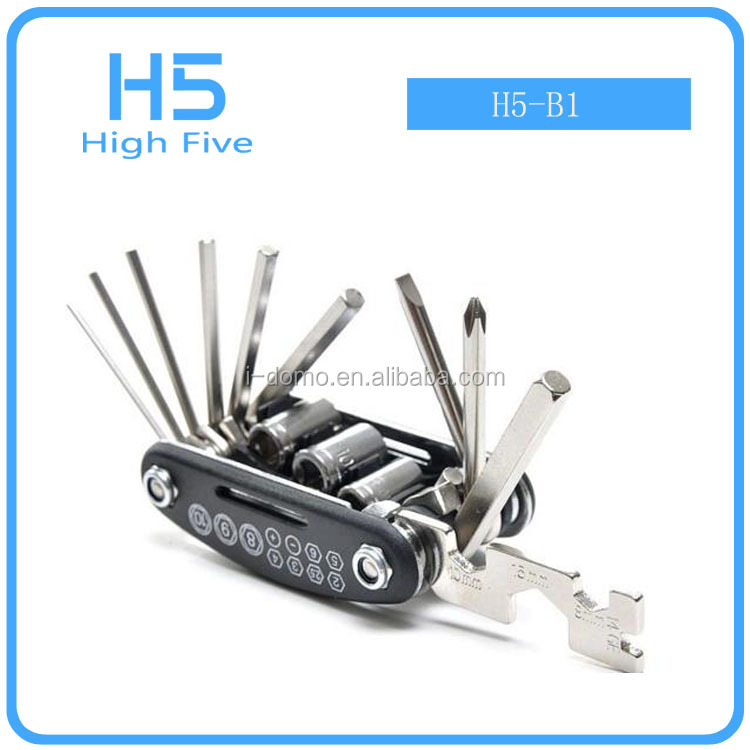 Accessories bicycle tire repair hand kit tool set Multifunctional High Quality bicycle repair tools