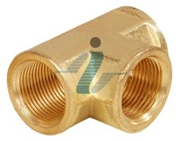 Brass Pipe Fittings Tee
