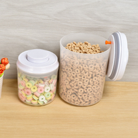 Mobile Plastic Food Storage Ingredient Bins Rice Bucket Flour Bins