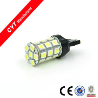 High brightness Auto bulb 6W 5050 27SMD White 7443 Led Car Brake Light