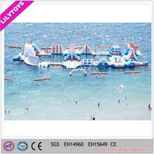Aqua park/ giant inflatable water equipment/ sea world water park