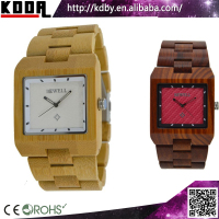 High Quality Watches Bamboo Wood Watch with Custom LOGO Relojes For Men