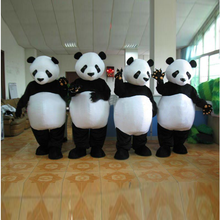 165-200cm or customized adult size giant plush panda mascot costume