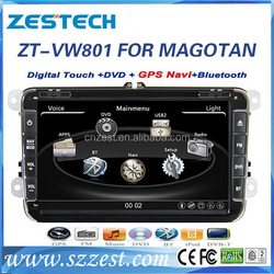 Hot selling 8 inch 2 din autoradio for Volkswagen Bora car audio video entertainment navigation system car stereo with 3G Wifi