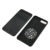Wholesales Creative pu black leather for iphone 8 8 plus case