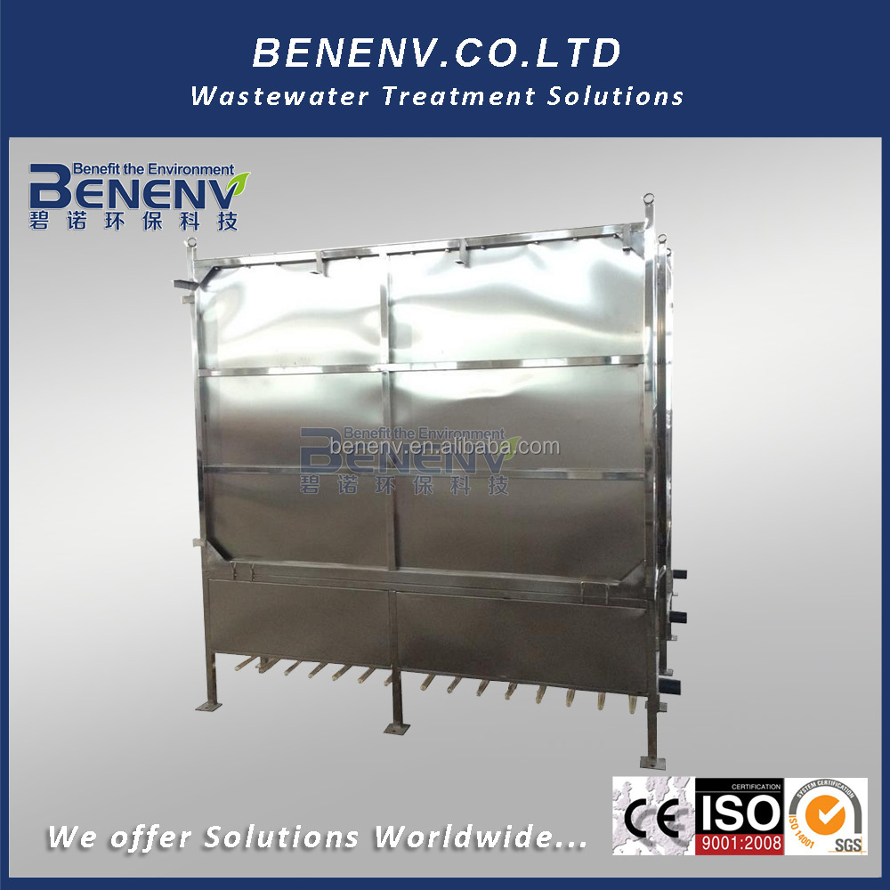 MBR Non-Clogging Automated Sludge Dehydrating Flat Sheet Membrane BioReactor for Steel Industry (BN150)