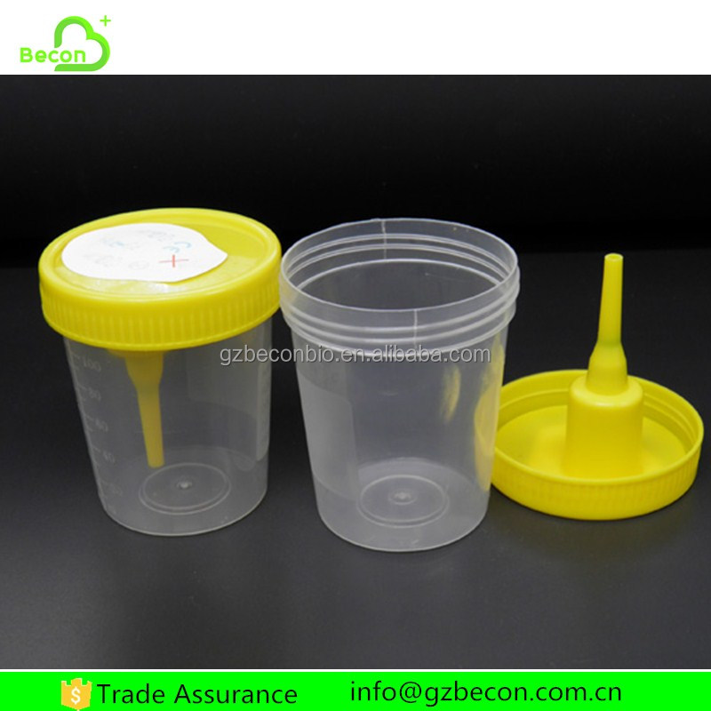 Wholesale Medical Plastic Stool Sputum Urine Container 120ml Sterile