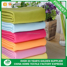 China tela al por mayor Super Soft 100% polyester outdoor plush Polar Fleece Blanket