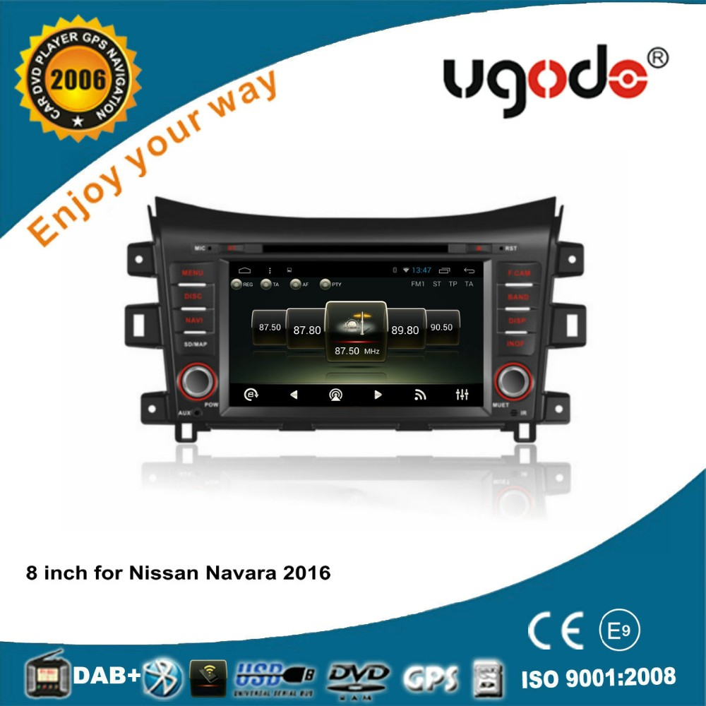ugode Android 4.4 6.0 2016 new product Auto Radio for Nissan Navara autoradio