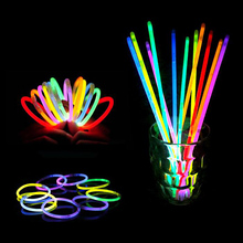 DIY Mini Glow lights Centerpiece Supplies led glow stick