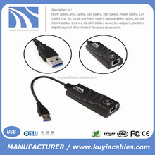 USB 3.0 to RJ45 10/100/1000 Gigabit Ethernet LAN Network Adapter