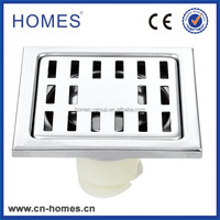 110*110mm SS304 chrome plated floor drain cover