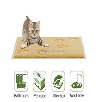 Petroad washable non slip pvc swing felt metal pet bed
