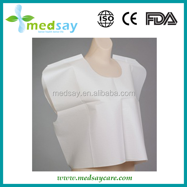 Medical disposable non woven patient exam gowns