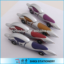car shape with tyre click ball pen