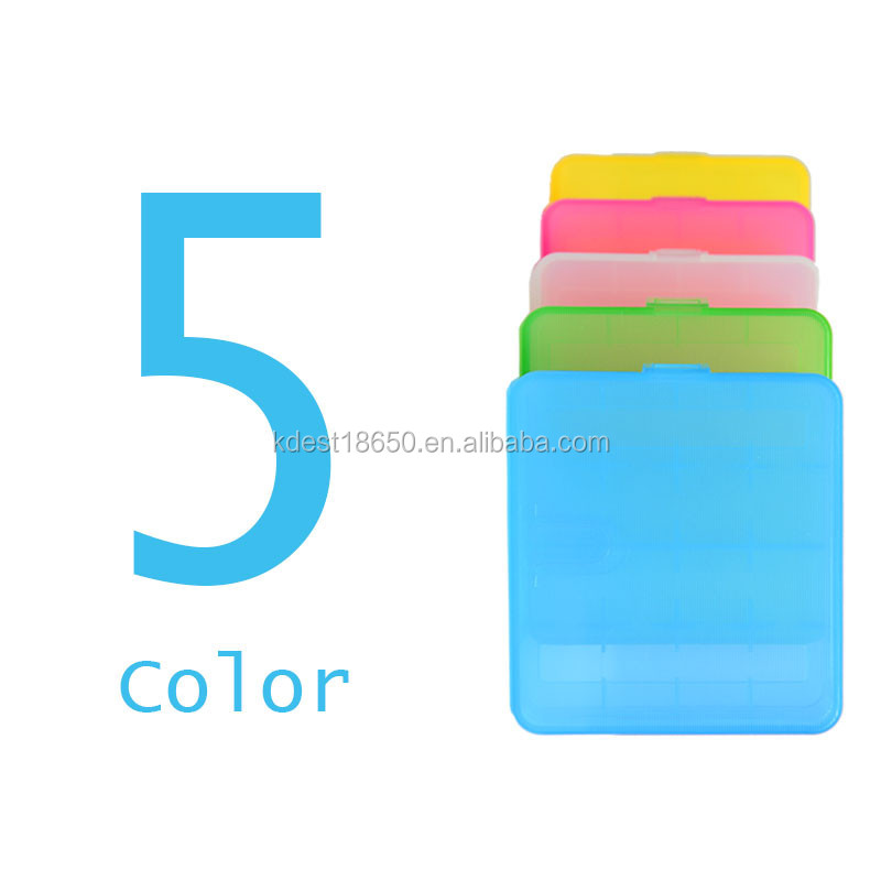 Transparent 18650 Plastic Battery Case Batery Holder Case 18650 Waterproof Storage Case