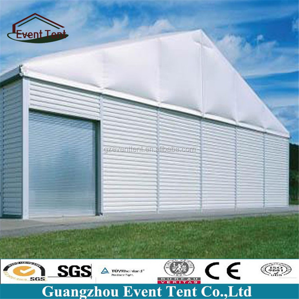 Heavy Duty Large Construction Tents for Sale with garage door