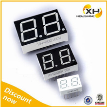 "1 Inch Blue Color 2 Digit 7 Segment LED Display 1"", Dual Digit 7 Segment LED Display 1"""