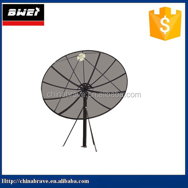 Good Price Polar mount C band mesh dish antenna with satellite dish positioner