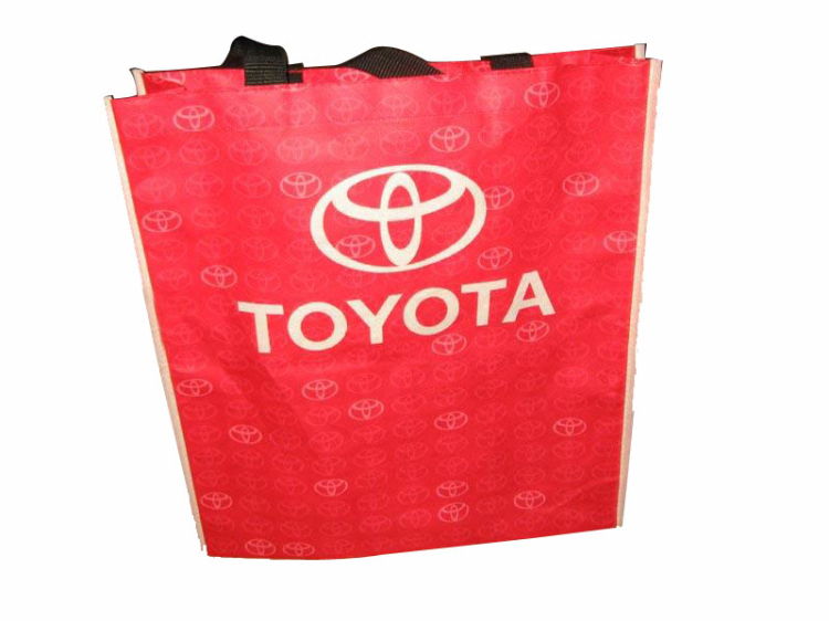 Hot Sale cutomized color rpet bags with velcro closure from China famous supplier