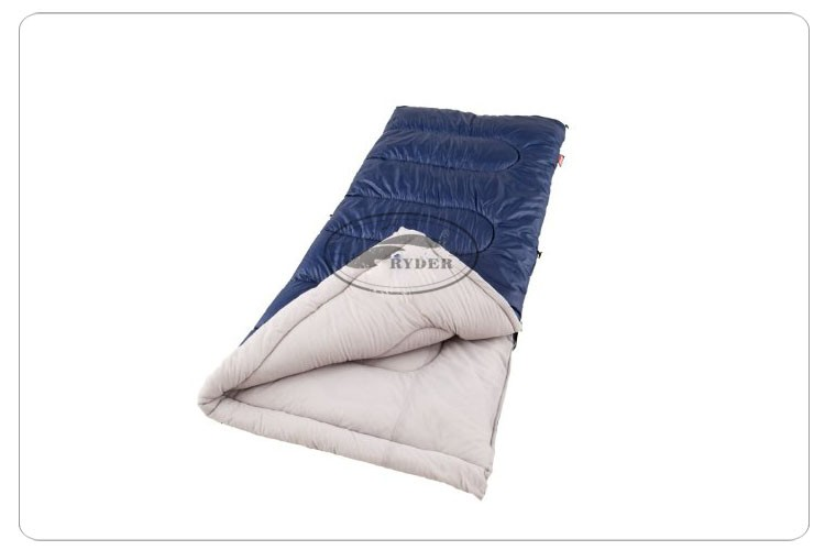 Customized High End Single Layer 10 Degree Silk-Like Synthetic Fiber 100% Cotton Flannel Thermal Rectangular Sleeping Bag