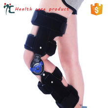 Orthopedic Hinged Airmesh Rom Knee Immobilizer Flexion Brace for Fracture
