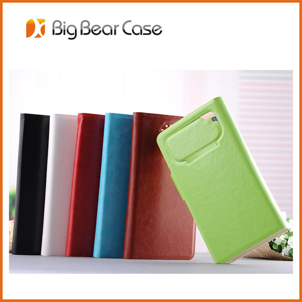 universal wallet flip for lenovo a390 leather case