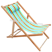 Modern sling chair folding deck chair canvas