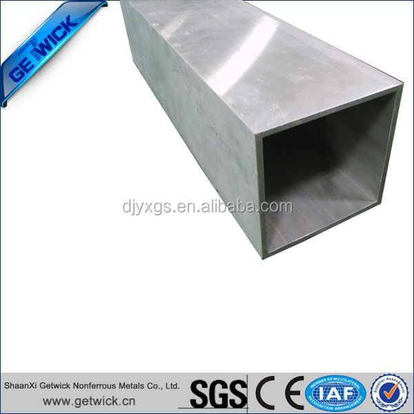 ASTM B338 Gr2 Titanium Square Tube and Pipe for Industrial