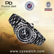 Prosver Dani Top Brand Hand Watch Men ,High Quality Watches with Double Black Ring Surface