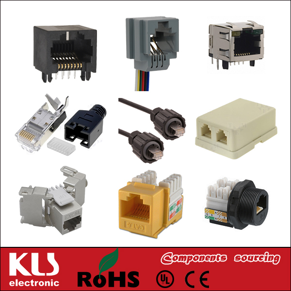 Good quality ip68 ethernet connector waterproof UL CE ROHS 177 KLS Brand