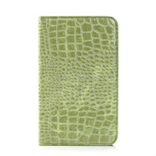 "Crocodile Pattern Flip Cover For tablet For Samsung Galaxy Tab 7"" T110"
