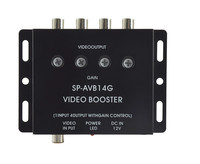 DS-124 car video booster/rca video booster 4 ways