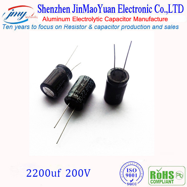 New product in futian for 200V 2200uF AC capacitors in <strong>truck</strong> odometer correction