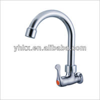 Single Hole chrome Kitchen Faucet with pull out sprayer