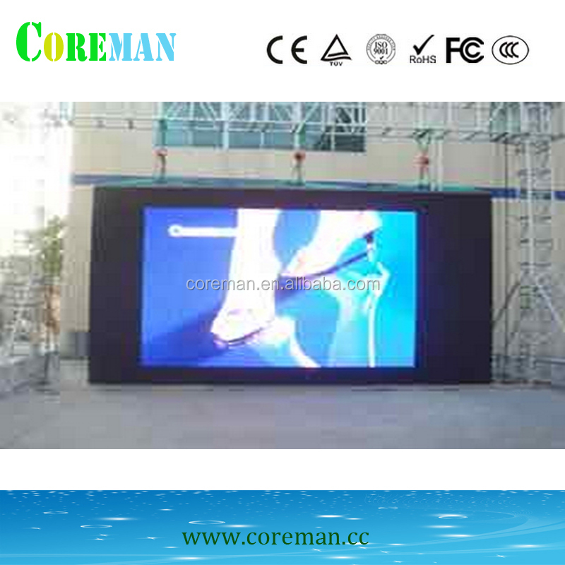 new led wall p4 p10 led display cabinet big screen publicity monitor led control card tf-du