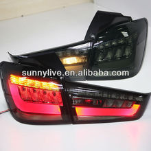 2012-2014 Year Outlander Sport ASX RVR LED Rear Lamps Tail Light Smoke Black Color YZV2
