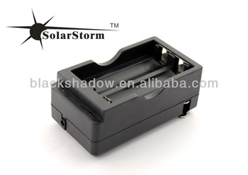 Solarstorm C02 wireless travel 4.2V 18650 lithium battery charger